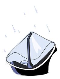 Isi Mini Regenhoes voor draagbare autostoel Groep 0+-Artikeldetail
