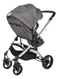 Dreambee Wandelwagen Essentials smokey grey-Achteraanzicht