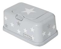 FunkyBox Boîte à lingettes humides étoile gris