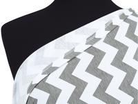 Itzy Ritzy Châle/écharpe d'allaitement Nursing Happens Infinity grey chevron-Détail de l'article