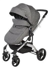 Dreambee Wandelwagen Essentials smokey grey-Vooraanzicht