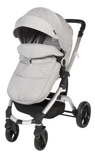 Dreambee Poussette Essentials pearl grey-Avant