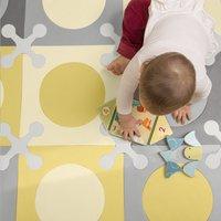 Skip*Hop Tapis-puzzle Playspot gold/grey - 20 pièces-Image 1