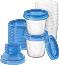 Philips AVENT 10 pots de conservation de 180 ml