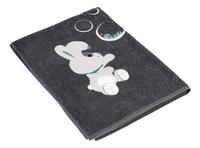 Dreambee Drap de bain Nino gris foncé-Côté gauche