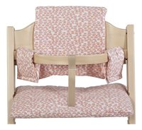 Trixie Coussin réducteur pour chaise haute Pebble Pink
