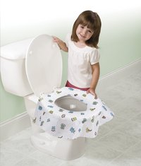 Summer Infant Wc-brilbeschermer Keep Me Clean - 10 stuks