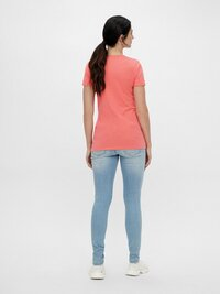 Mamalicious T-shirt à manches courtes Power Woman Sugar Coral-Image 4