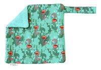 Trixie Fopspeendoekje Flamingo groen