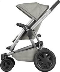 Quinny Wandelwagen Buzz Xtra 2.0 grey gravel-Linkerzijde