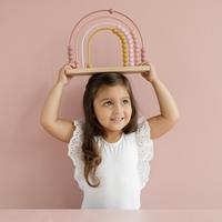 Little Dutch Boulier Arc-en-ciel Pink-Image 1