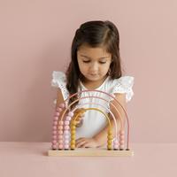 Little Dutch Boulier Arc-en-ciel Pink-Image 2