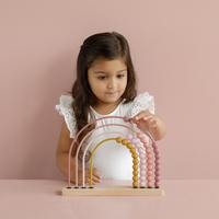Little Dutch Boulier Arc-en-ciel Pink-Image 3