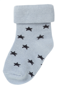 Noppies Paire de chaussettes Napoli grey blue - 2 pièces de 3 à 6 mois-Détail de l'article
