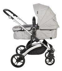 Dreambee Wandelwagen Essentials pearl grey-Linkerzijde