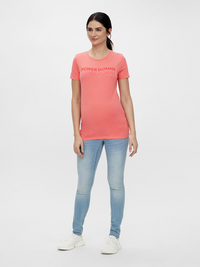 Mamalicious T-shirt à manches courtes Power Woman Sugar Coral-Image 3