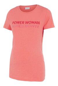 Mamalicious T-shirt à manches courtes Power Woman Sugar Coral-Côté droit