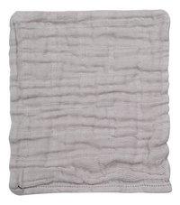 Dreambee Gant de toilette Nino gris/blanc - 3 pièces-Détail de l'article