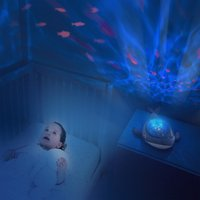 Pabobo Veilleuse/projecteur Baleine Aqua Dream-Image 1