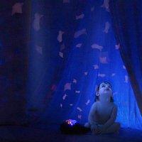 Pabobo Veilleuse/projecteur Baleine Aqua Dream-Image 2
