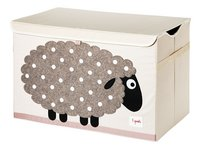3Sprouts Coffre à jouets mouton-Côté droit