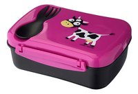 Carl Oscar Lunchbox N'ice Box purple-Côté droit