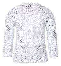 Noppies T-shirt met lange mouwen Kim white maat 74-Achteraanzicht