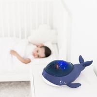 Pabobo Veilleuse/projecteur Baleine Aqua Dream-Image 3