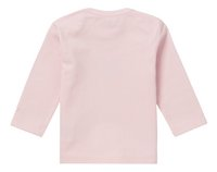 Noppies T-shirt met lange mouwen Natick light rose maat 62-Achteraanzicht