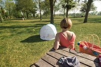Babymoov Tente anti-UV pop-up modèle 2019 bleu-Image 2