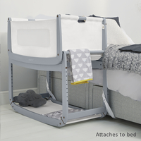 Snüz Co-sleeper Snüzpod 3 dark grey-Afbeelding 2