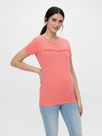 Mamalicious T-shirt à manches courtes Power Woman Sugar Coral-Image 2