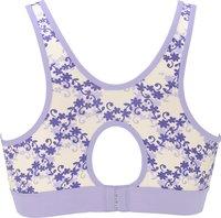 Mammae Soutien-gorge d'allaitement Soft Blue Iris taille 2-Arrière