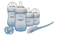 Philips AVENT Starterset Natural voor pasgeborene blauw