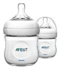 Philips AVENT Zuigfles Natural Duo 125 ml - 2 stuks
