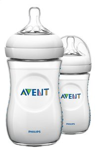 Philips AVENT Zuigfles Natural Duo 260 ml - 2 stuks