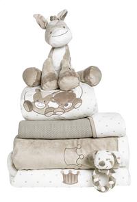 Nattou Deken voor wieg of park Max, Noa & Tom polyester-Afbeelding 1