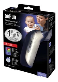 Braun Infrarood koortsthermometer ThermoScan 7 met Age Precision IRT6520