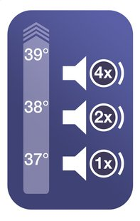 Braun Infrarood koortsthermometer ThermoScan 3 IRT3030-Artikeldetail