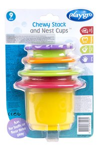 Playgro Stapelpotjes Chewy Stack and Nest Cups-Achteraanzicht