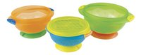 Munchkin Bol Stay Put Suction Bowls - 3 pièces