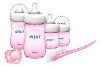 Philips AVENT Set de démarrage Natural pour nouveau-nés rose