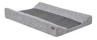 Jollein Hoes voor waskussen Stonewashed Knit grey