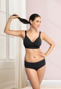 Carriwell Soutien-gorge d'allaitement 2.0 sans couture noir XL-Image 6