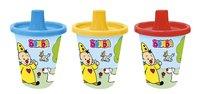 Studio 100 Gobelet d'apprentissage Bumba 296 ml bleu/jaune/rouge - 3 pièces-commercieel beeld