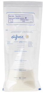 Difrax Bewaarzakjes 250 ml - 20 stuks-Artikeldetail