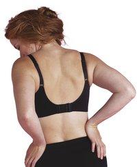Carriwell Soutien-gorge d'allaitement 2.0 sans couture noir XL-Image 3