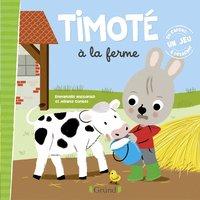 Livre Timoté à la ferme - Emmanuelle Massonaud