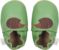 Bobux Chaussons Soft soles Fern Hedgehog vert/brun pointure 16/17