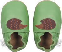Bobux Schoentjes Soft soles Fern Hedgehog groen/bruin